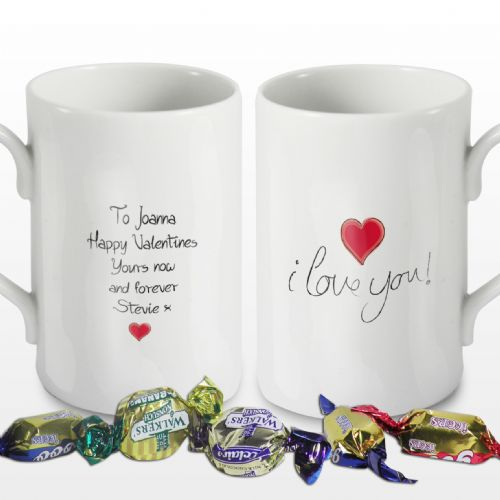 Personalised I Love You Windsor Mug